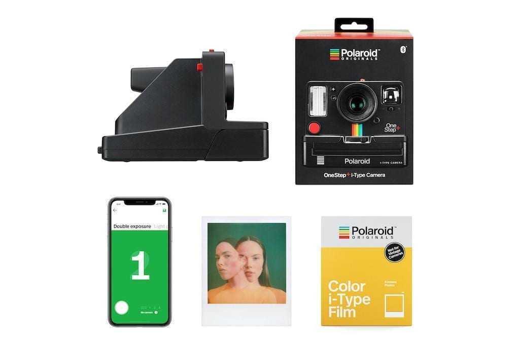 IFA 2018. Polaroid выпускает новую камеру OneStep+ с Bluetooth (PNG image.0)