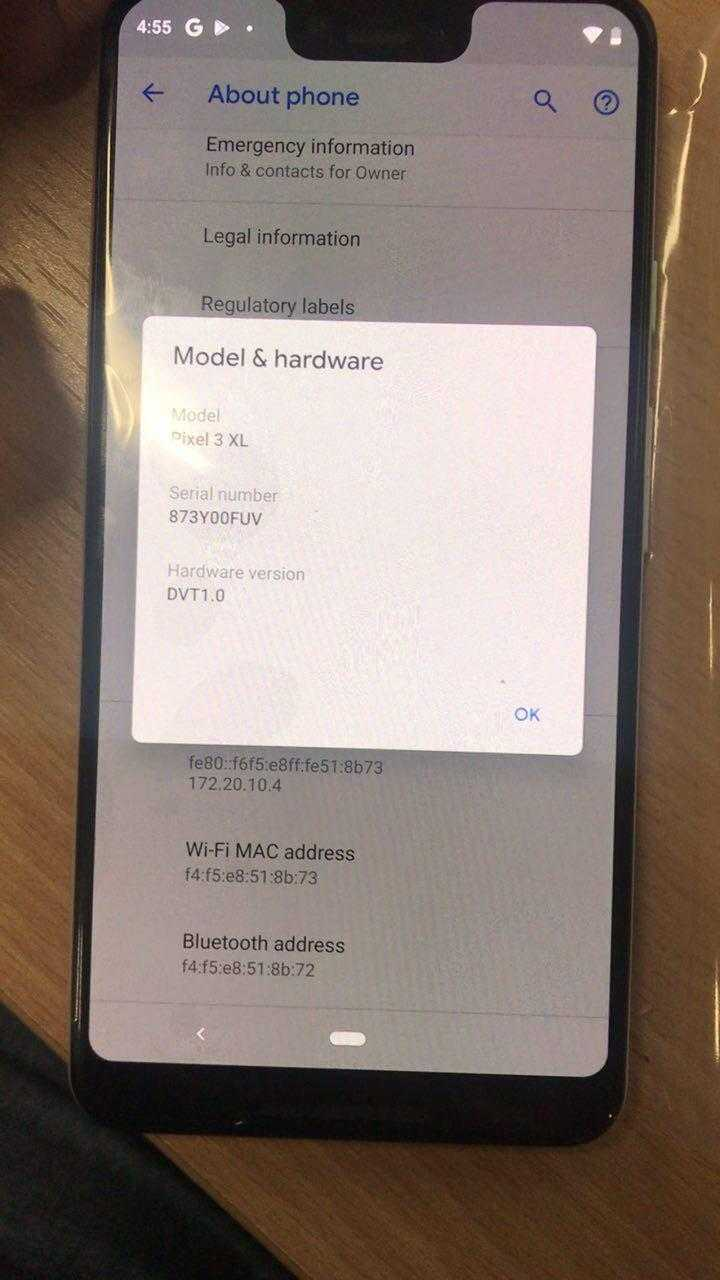 Блогер опубликовал фотографии Google Pixel 3 (photo 2018 08 08 15 08 55 2)