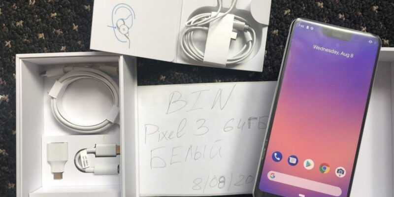Блогер опубликовал фотографии Google Pixel 3 (photo 2018 08 08 16 44 06 e1533754166271)
