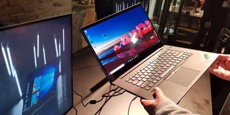 IFA 2018: Lenovo представила ноутбук ThinkPad X1 Extreme (photo 2018 08 30 22 49 59 2 large)
