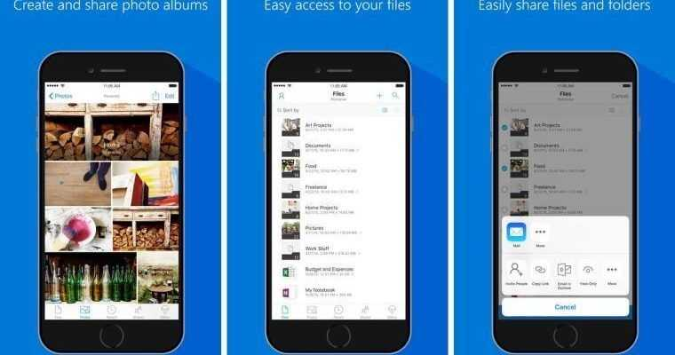 Microsoft обновила OneDrive для iOS (1509720770 onedrive update ios story)