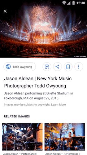 Под картинками в Google будет отображаться имя автора (2018 09 25)