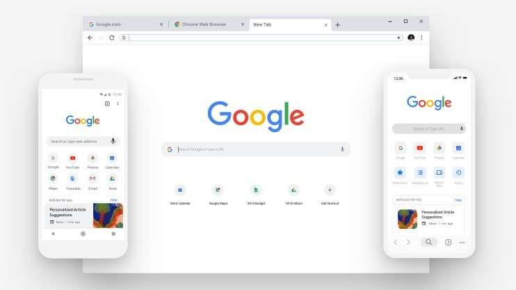 В честь своего дня рождения Chrome получил новый дизайн (Z3KYGBkW0fYh)