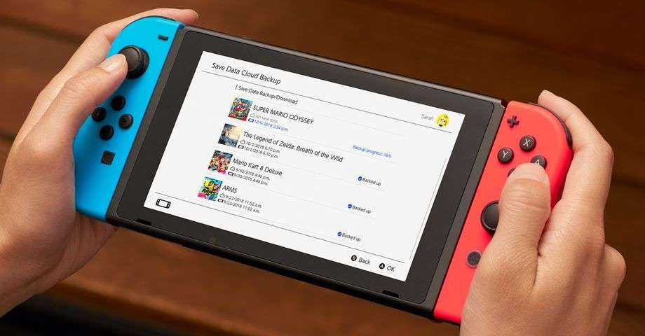 Nintendo запускает платную подписку для Switch (backups)