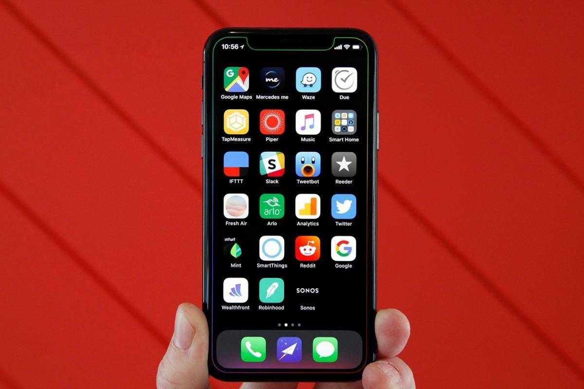 Производительность, а не дизайн: обзор Apple iOS 12 для iPhone (bgr iphone x notch wallpaper)