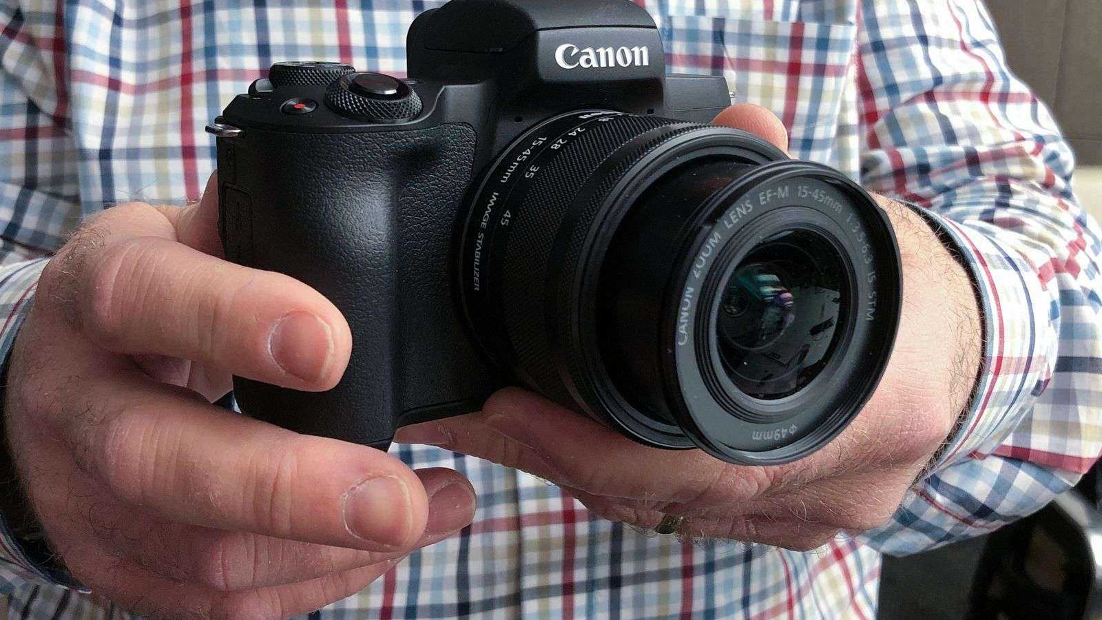 Canon выпустила беззеркальную полнокадровую камеру EOS R (canon eos m50 for hero)