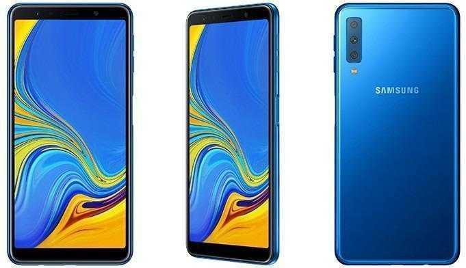 Samsung представила смартфон с тройной задней камерой (dgl galaxy a7 main 1 4165)