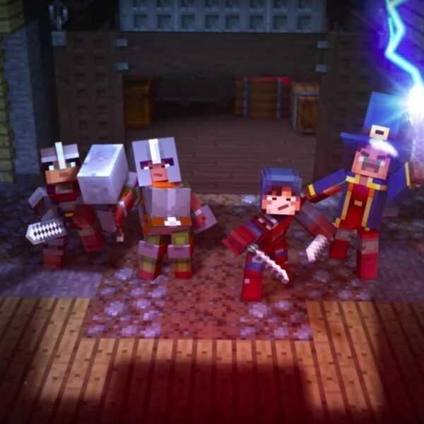 Minecraft выпустит RPG-версию игры в 2019 году (dims 2)