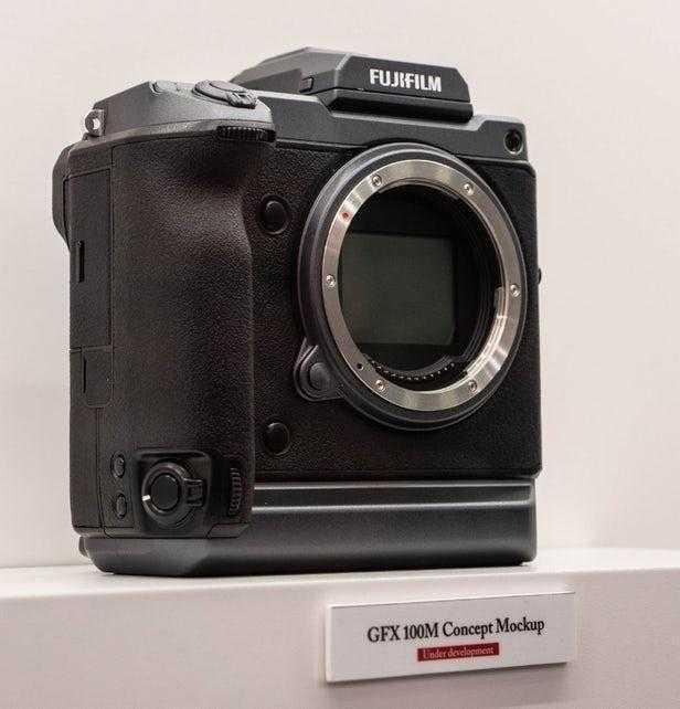 Fujifilm разрабатывает 100-мегапиксельную камеру (fujifilm 100 megapixel medium format concept 5)
