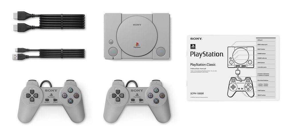 Sony начнёт продавать PlayStation Classic в декабре 2018 (sony playstation classic 2 1)