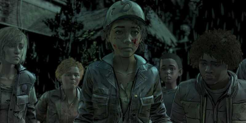 Telltale работает над завершением последнего сезона The Walking Dead (walking dead final season ep 2 screen 2)