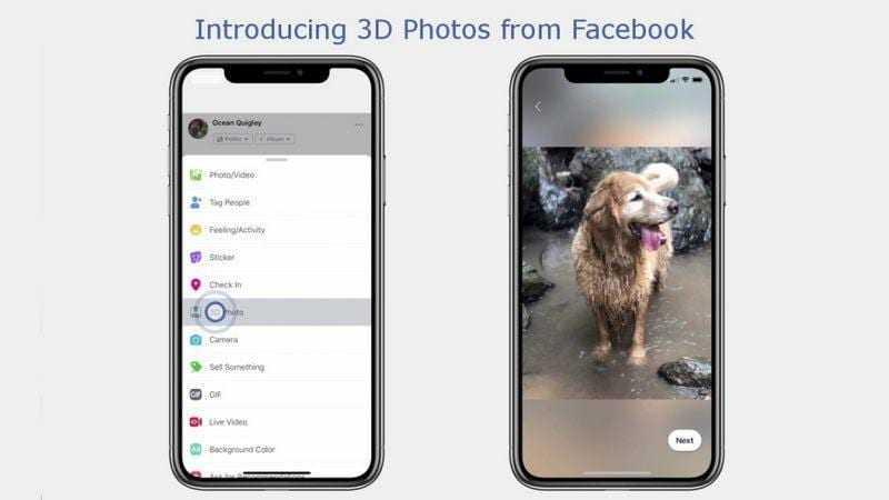Facebook позволит размещать 3D-фотографии в ленте (3d photos facebook full 1539326529562)