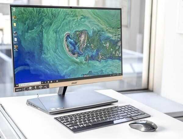 Стильный компьютер. Обзор ультратонкого моноблока Acer Aspire S24-880 (492209 acer aspire s24 all in one desktop)