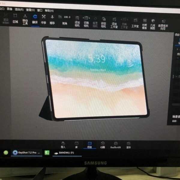 iPad Pro показали на рендерах со всех сторон (534958)