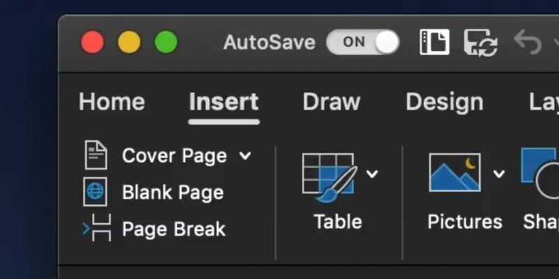 Microsoft Office получит темную тему на macOS Mojave (diaj3h6.0.png)