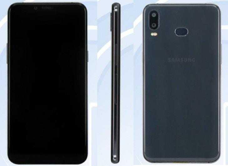 Появились характеристики Samsung Galaxy A6s (gsmarena 002)