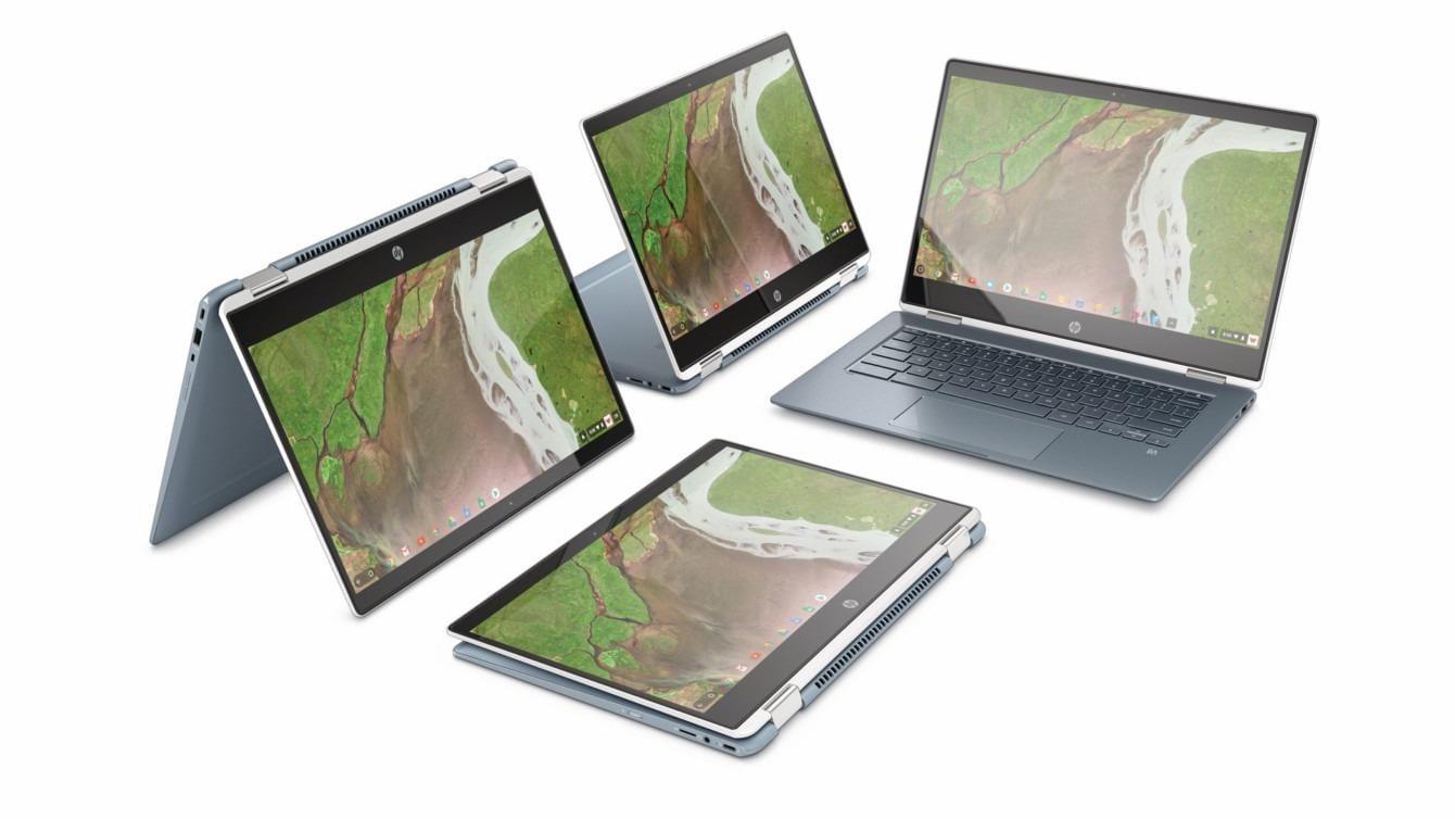 Asus анонсировал 14-дюймовый хромбук (hp chromebook x360 14)