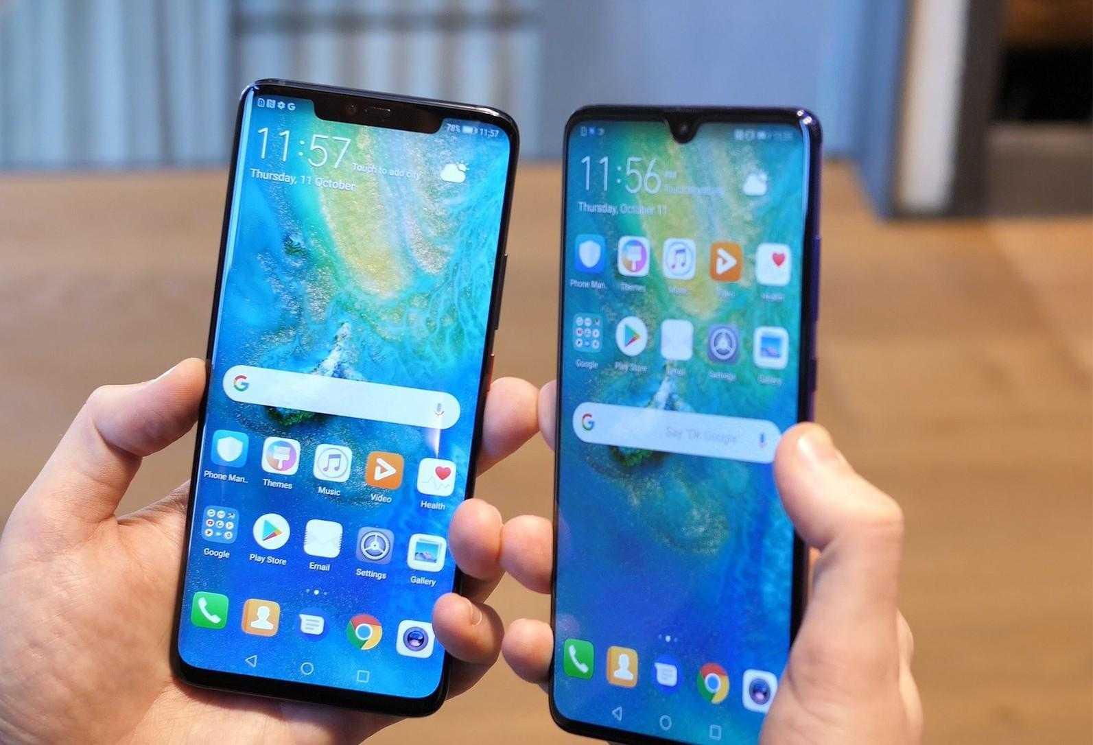 Huawei представил премиальные смартфоны Mate20 (huawei mate 20 pro 7)