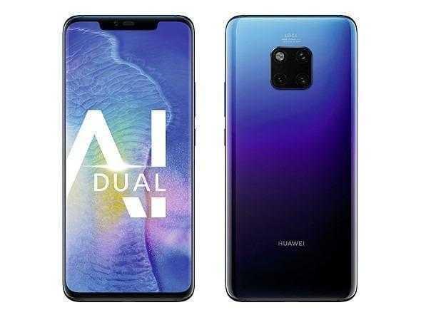 Huawei представил премиальные смартфоны Mate20 (huawei mate 20 pro twilight 7)