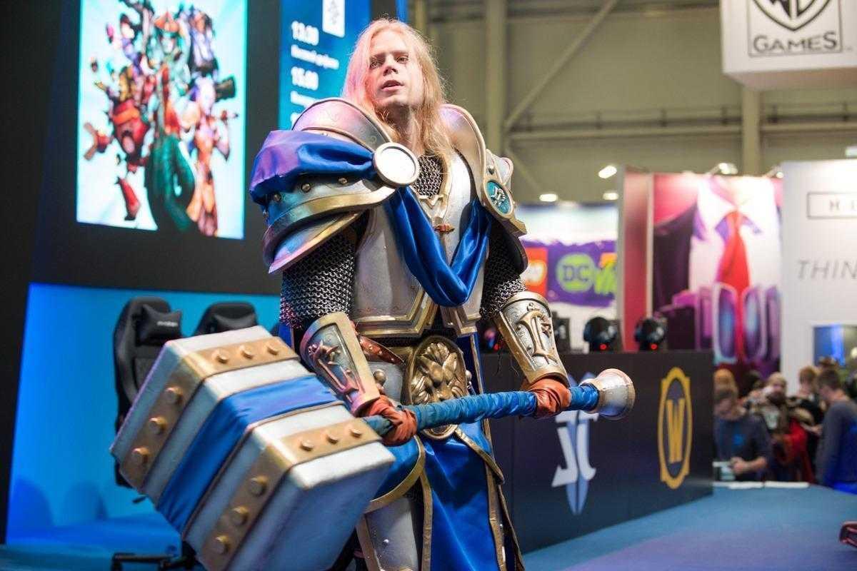 18+ Самый необычный косплей на ИгроМир 2018 и Comic Con. День 1 (igromir comic con kosplej 36)