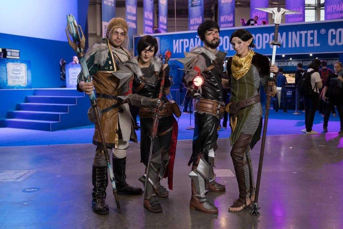 18+ Самый необычный косплей на ИгроМир 2018 и Comic Con. День 2 (igromir comic con kosplej den 2 27)
