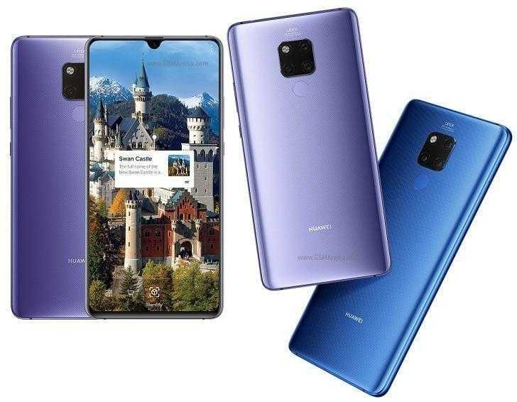 Huawei представил премиальные смартфоны Mate20 (mate 20 x 01)