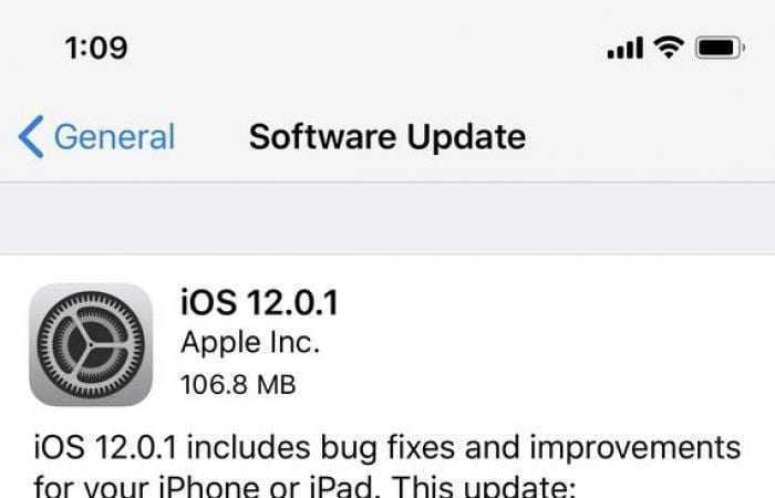 Обновление iOS 12.0.1 исправляет ошибку с зарядкой iPhone XS (medium 2018 10 08 ca5b901c71)