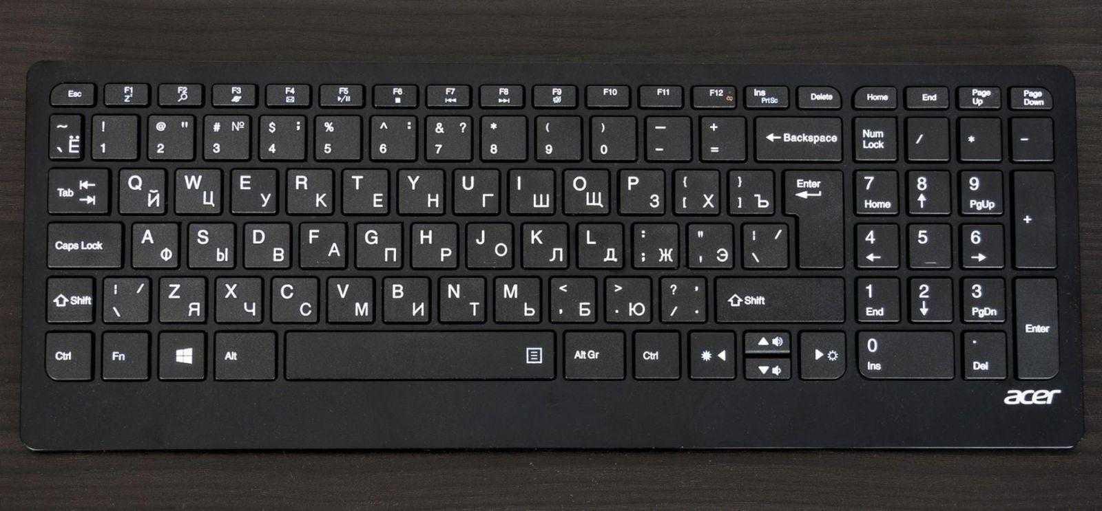 Клавиатура Acer Aspire S24-880