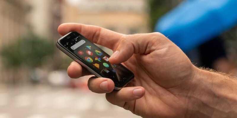 Palm возрождает миниатюрные смартфоны (palm verizon ultramobile)
