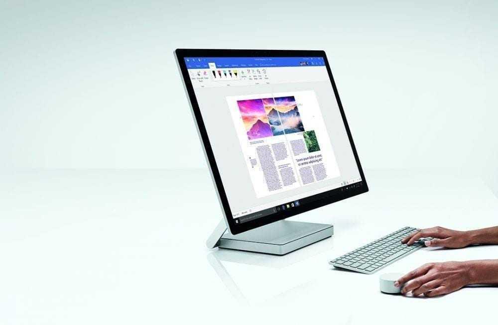 Microsoft представила Surface Studio 2: самый быстрый моноблок (po1srlbrtjb1)