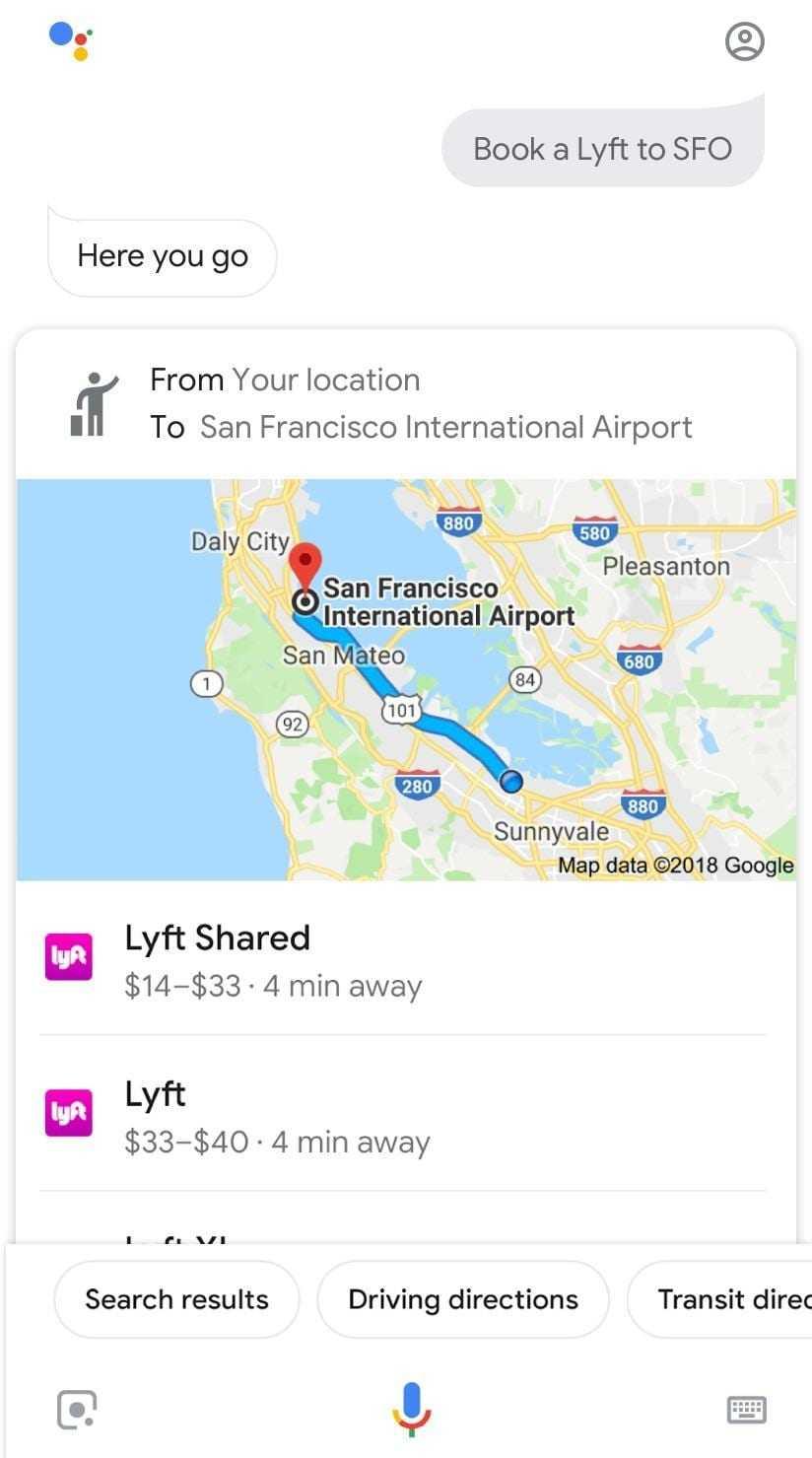 Google Assistant позволит заказать такси с помощью голоса (ridesharing lyft 1.png)
