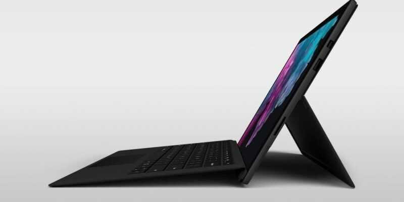 Microsoft Surface Pro 6 получил новые процессоры (zloca2b3qlho)
