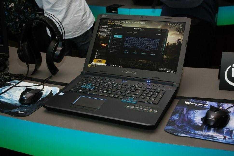 Acer стартовала продажи игрового ноутбука Predator Helios 500 (42 acer predator helios 500)