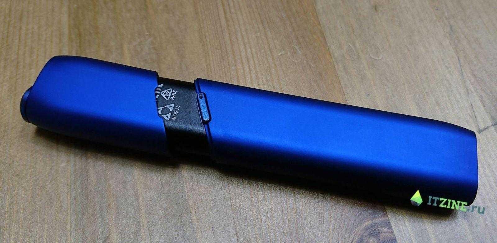 IQOS 3 Multi c приподнятой крышкой для вынимания стика
