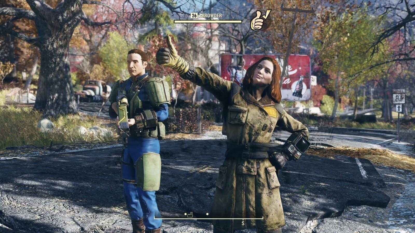 Патч первого дня для Fallout 76 будет «весить» больше самой игры (fallout 76 emote)
