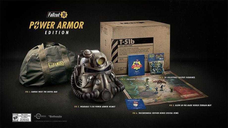 Коллекционка Fallout 76 оказалась не тем, чего ожидали фанаты ()