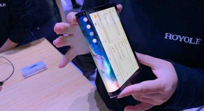 Китайцы показали гнущийся смартфон (flexpai samsung galaxy s10 2 e1541143200324)