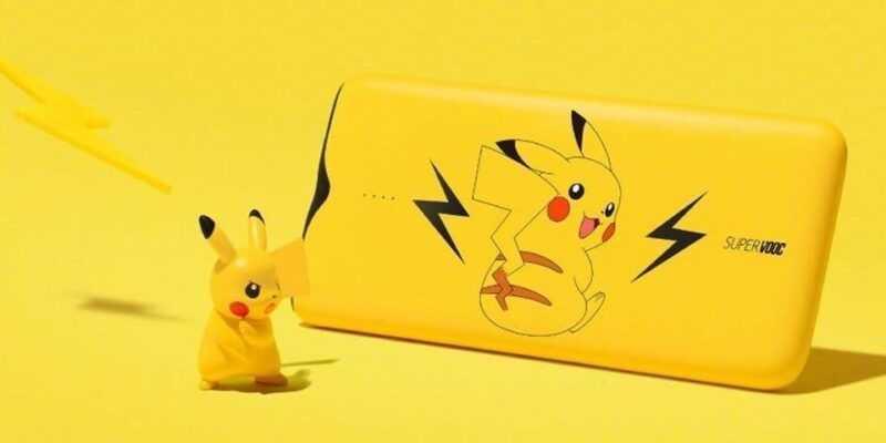 Oppo выпустила самый быстрый в мире Power Bank (oppo pikachu supervooc power bank 5)