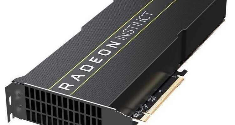 AMD представила первый в мире 7-нанометровый GPU  (radeon instinct mi60 vega 7nm 03)