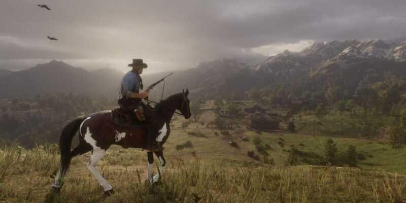 В Red Dead Redemption 2 самовоспламеняются лошади (red dead redemption 2 screenshot 084 3840)