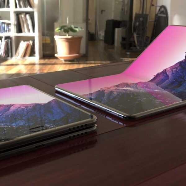 Android будет нативно поддерживать гибкие смартфоны (samsung foldable oled galaxy phone)