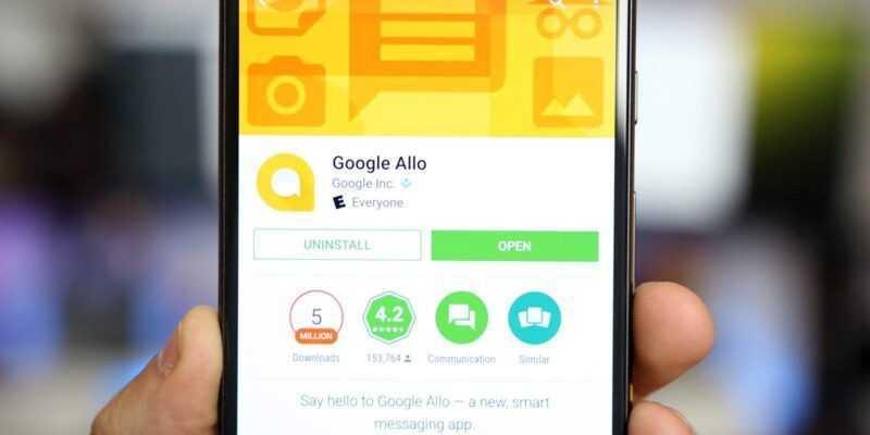 Google закроет мессенджер Allo в следующем году (allo 2)