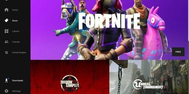 Epic Games представила своего конкурента Steam (epic games launcher screenshot the verge.0)