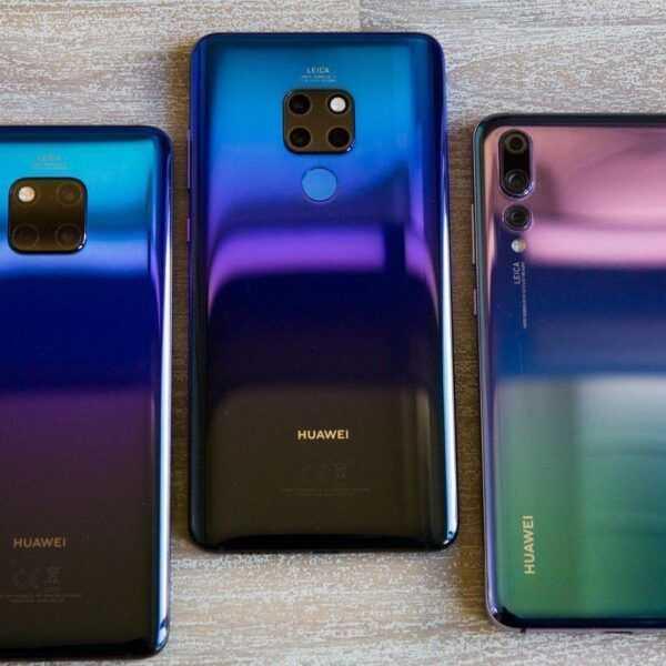 Huawei продал рекордные 200 млн телефонов в 2018 году (huawei mate 20 pro comparison 9604)