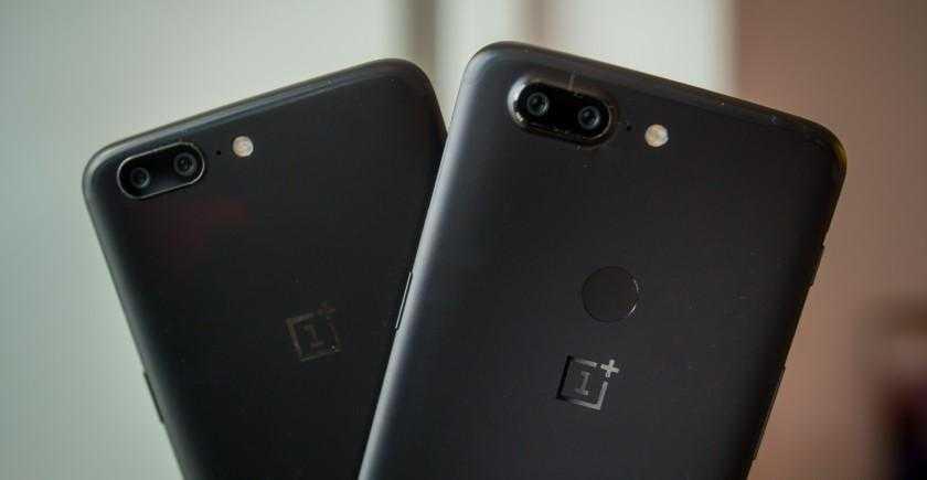 OnePlus 5 и 5T получат Android Pie (oneplus 5t oneplus 5 oxygenos 5 1 2)