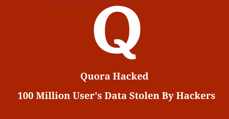Хакеры украли данные 100 млн пользователей Quora (quora hacked)