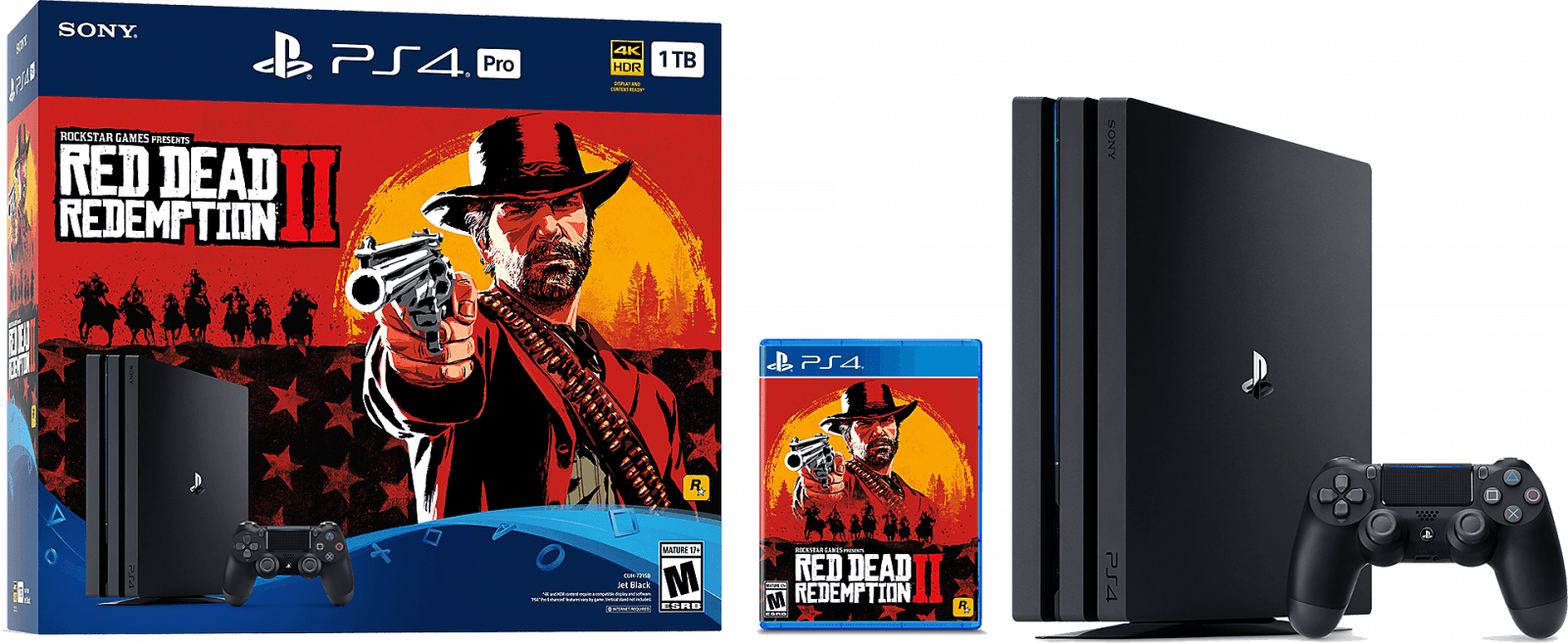 Главные события 2018 года (red dead redemption 2 ps4 pro bundle hero product 01 ps4 us 19sep18)