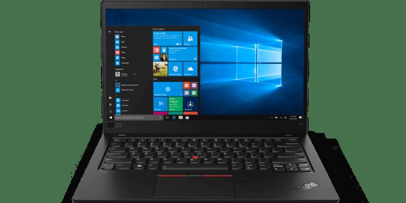 CES 2019. Lenovo обновила ноутбуки ThinkPad X1 Carbon (02 X1 Carbon Hero Front Facing JD.0)