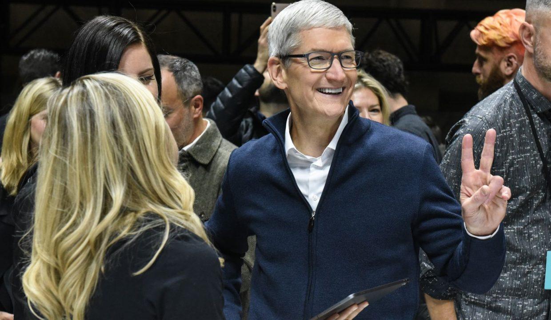 Доходы бьют рекорды. Apple отчиталась за 1-й квартал 2019 года (35B6366F A727 42C6 B1DD 1453A471B507)