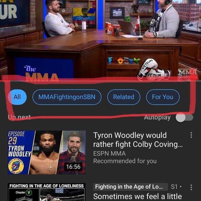 YouTube пытается переделать систему рекомендаций (Image from iOS)